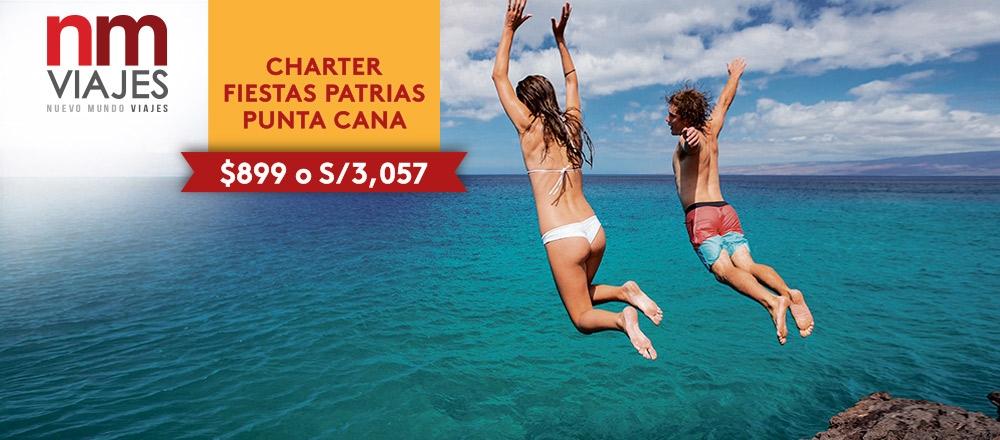 CHARTER DE FIESTAS PATRIAS - PUNTA CANA - NUEVO MUNDO VIAJES - Club De Suscriptores El Comercio Perú.