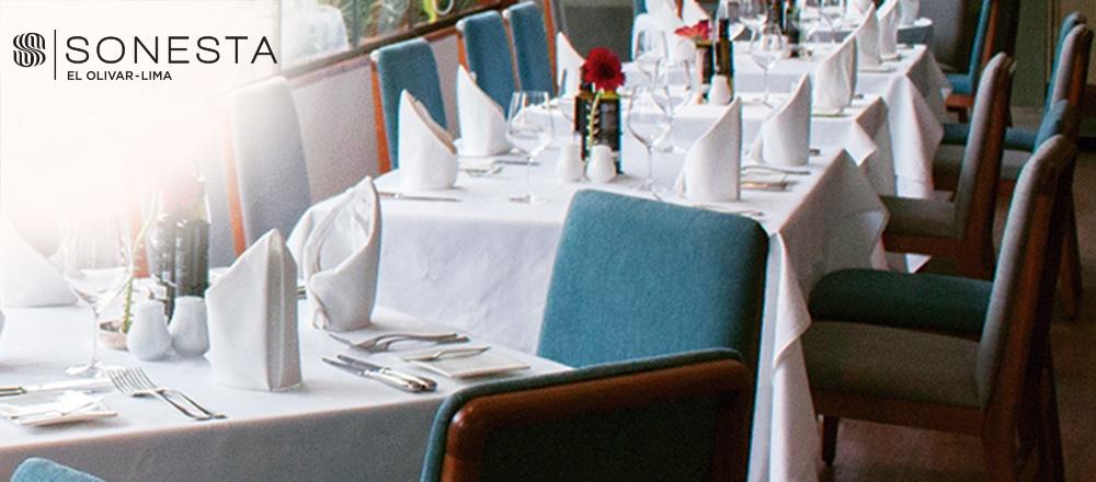 EL OLIVAR RESTAURANT  - HOTELES SONESTA - Club De Suscriptores El Comercio Perú.