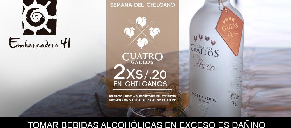 EMBARCADERO 41 ¡SEMANA DEL CHILCANO! - EMBARCADERO 41 - Club De Suscriptores El Comercio Perú.