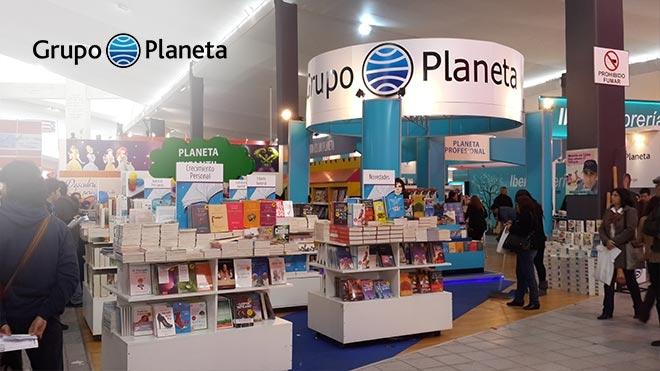 FERIA DEL LIBRO - EDITORIAL PLANETA Feria P. Servicios