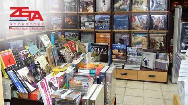 FERIA DEL LIBRO - ZETA BOOKSTORE Feria P. Servicios