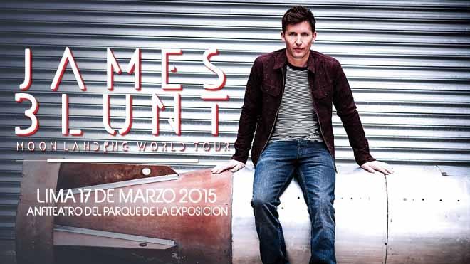 JAMES BLUNT-Conciertos-cultyentret-Club De Suscriptores El Comercio Perú.
