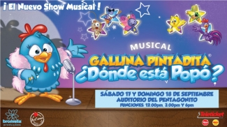 LA GALLINA PINTADITA, ¿DÓNDE ESTÁ POPÓ? - Club El Comercio Perú.