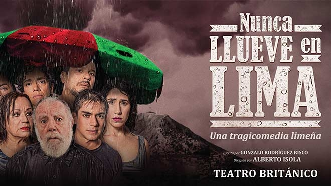 NUNCA LLUEVE EN LIMA - Club El Comercio Perú.