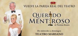 QUERIDO MENTIROSO -Teatro-cultyentret-Club De Suscriptores El Comercio Perú.