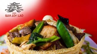 SAN JOY LAO Zona gourmet Restaurante