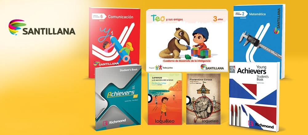 SANTILLANA | ESPECIAL ESCOLAR - Club El Comercio Perú.