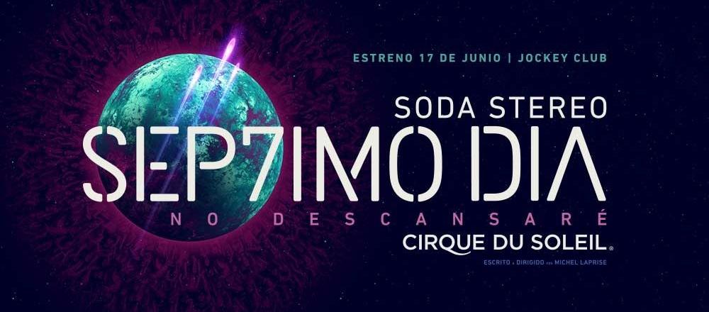 SODA STEREO + CIRQUE DU SOLEIL - Club El Comercio Perú.