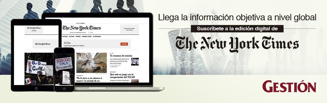 SUSCRIPCIÓN DIGITAL DEL NEW YORK TIMES