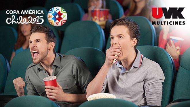 TAQUILLA EXCLUSIVA UVK - COPA AMÉRICA 2015 Cine cultyentret