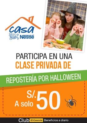 Clases en CASA NESTLÉ - Club El Comercio Perú.