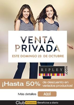 Ripley: Venta Privada - Club El Comercio Perú.