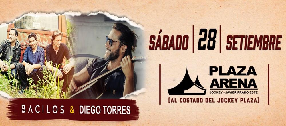 BACILOS Y DIEGO TORRES - Teleticket - Club De Suscriptores El Comercio Perú.