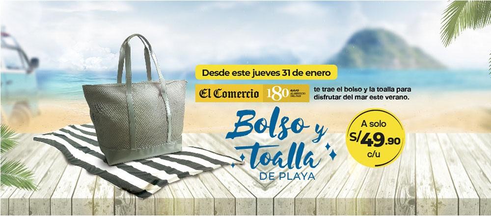 Bolso y Toalla de Playa - CLUB DE SUSCRIPTORES - Club De Suscriptores El Comercio Perú.