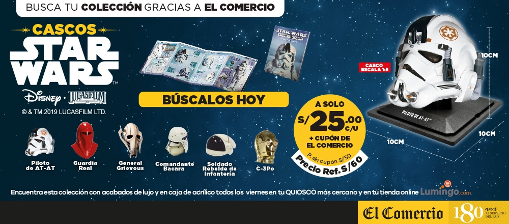 CASCOS STAR WARS - CLUB DE SUSCRIPTORES - Club De Suscriptores El Comercio Perú.
