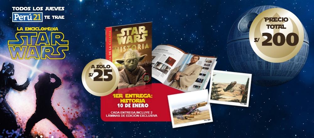 ENCICLOPEDIA STAR WARS - CLUB DE SUSCRIPTORES - Club De Suscriptores El Comercio Perú.