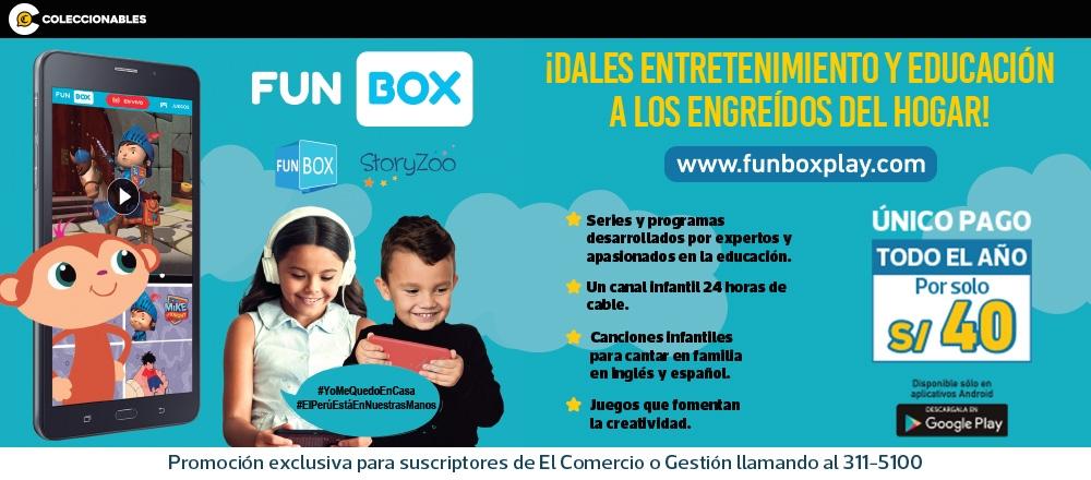 FUN BOX PLAY - CLUB DE SUSCRIPTORES - Club De Suscriptores El Comercio Perú.