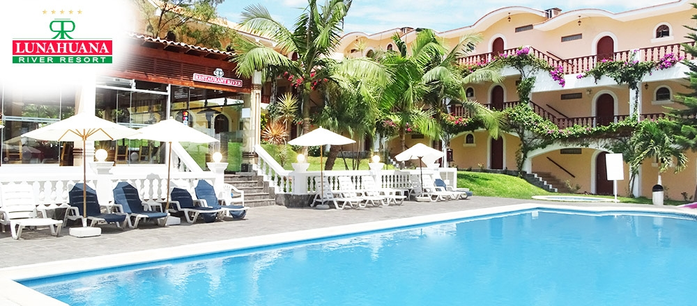 HOTEL LUNAHUANÁ RIVER RESORT   ALOJAMIENTO - LUNAHUANA RIVER RESORT - Club De Suscriptores El Comercio Perú.