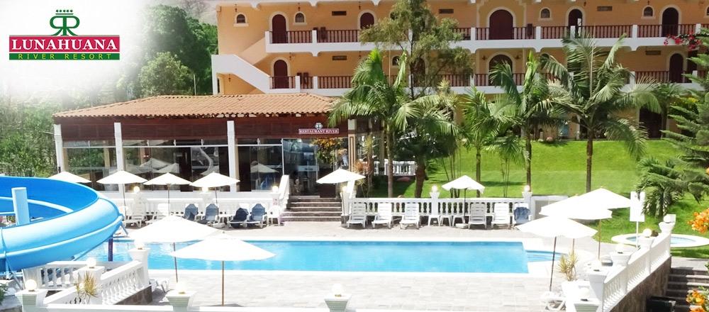 HOTEL LUNAHUANÁ RIVER RESORT | PAQUETES - LUNAHUANA RIVER RESORT - Club De Suscriptores El Comercio Perú.