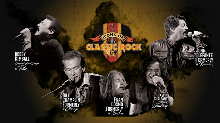 ICONS OF CLASSIC ROCK  - Teleticket
