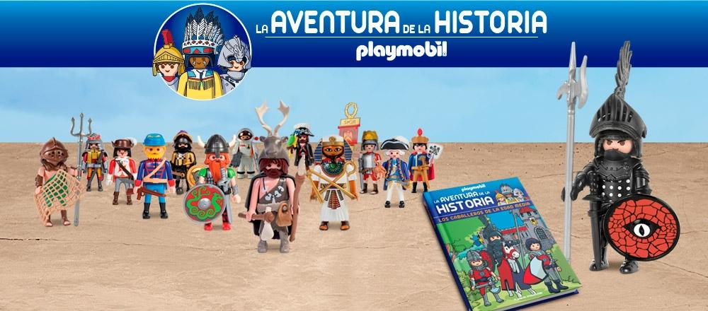 PLAYMOBIL, LA AVENTURA DE LA HISTORIA - CLUB DE SUSCRIPTORES - Club De Suscriptores El Comercio Perú.