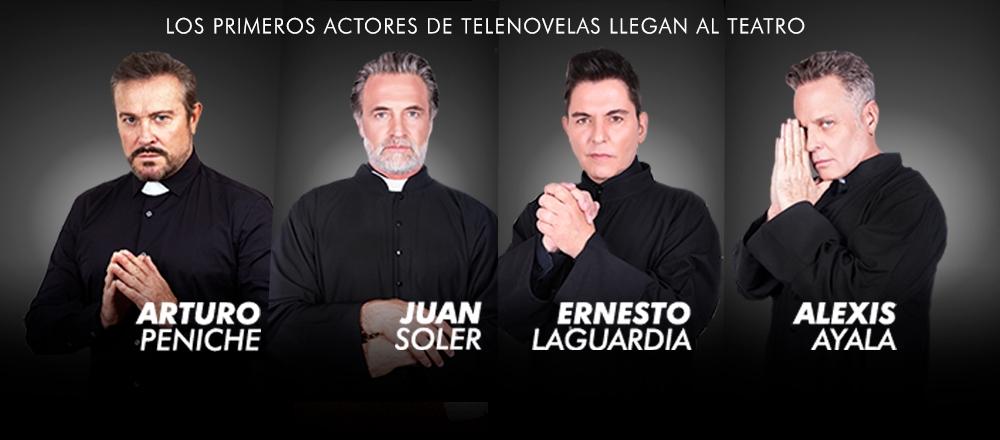 ARTURO PENICHE- JUAN-SOLER-ERNESTO LAGUARDIA - Teleticket - Club De Suscriptores El Comercio Perú.