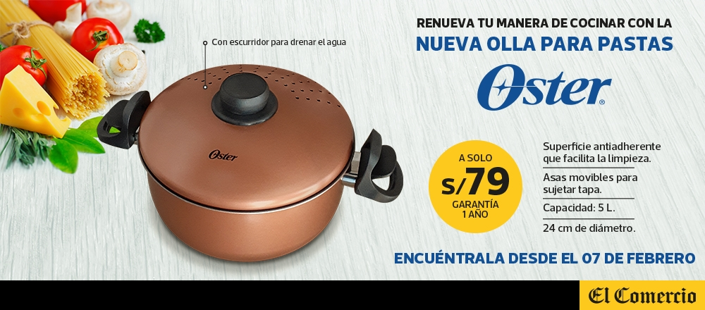OLLA PARA PASTA OSTER - CLUB DE SUSCRIPTORES - Club De Suscriptores El Comercio Perú.