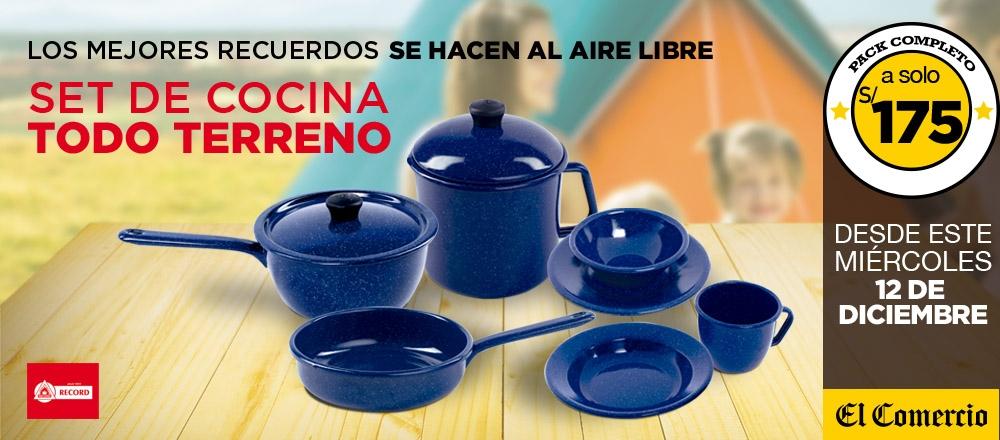 SET DE COCINA TODO TERRENO - CLUB DE SUSCRIPTORES - Club De Suscriptores El Comercio Perú.