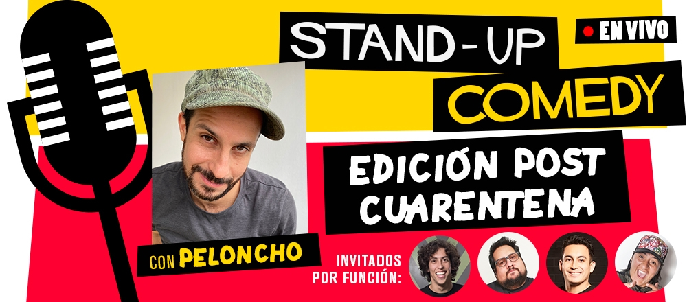 TEATRO CCPUCP | STAND UP COMEDY  - PONTIFICIA UNIVERSIDAD CATÓLICA DEL PERÚ - Club De Suscriptores El Comercio Perú.