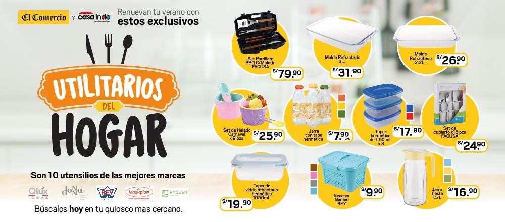 UTILITARIOS DEL HOGAR - CLUB DE SUSCRIPTORES - Club De Suscriptores El Comercio Perú.