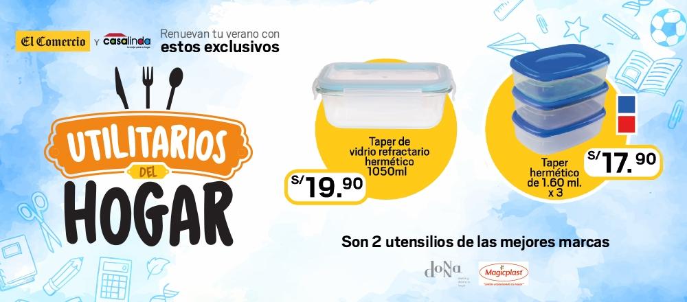 UTILITARIOS DEL HOGAR TÁPER - CLUB DE SUSCRIPTORES - Club De Suscriptores El Comercio Perú.