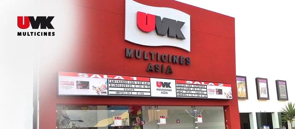 UVK MULTICINES   ASIA - UVK MULTICINES - Club De Suscriptores El Comercio Perú.